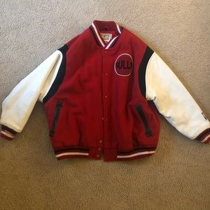 Other - Authentic Chicago Bulls Letterman Jacket